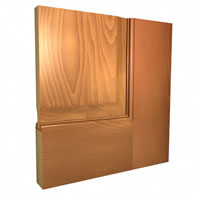 Ogee Sticking, Raised Panel
